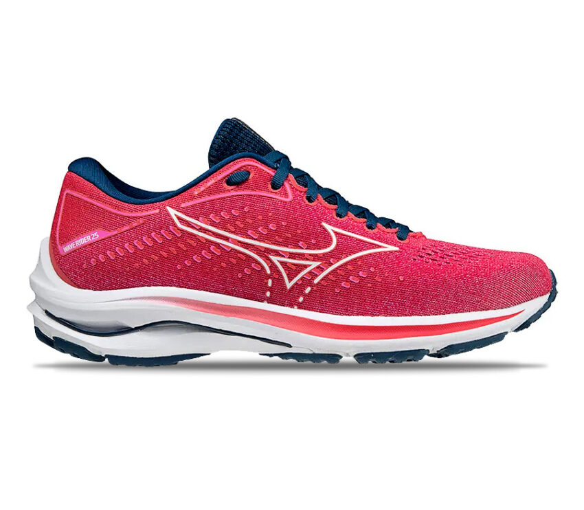 scarpa da running mizuno wave rider 25 rosa