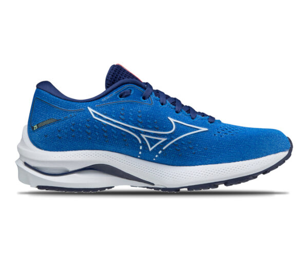 scarpa da running mizuno wave rider 25 blu