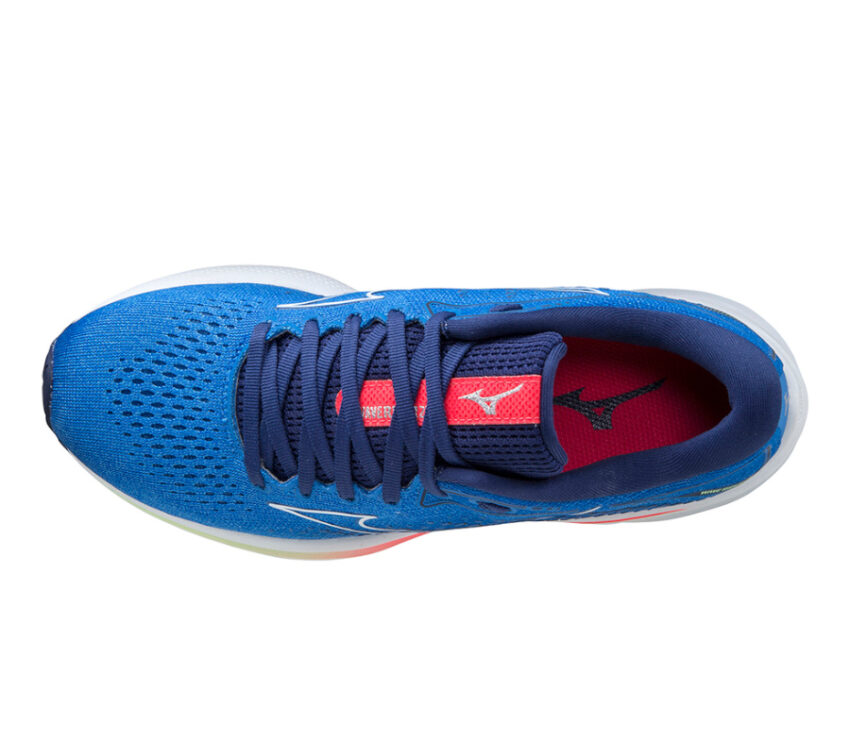 tomaia scarpa da running mizuno wave rider 25 blu