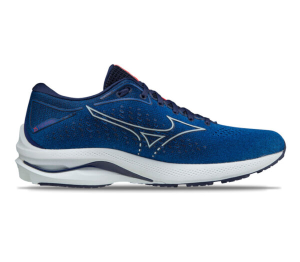 scarpa running mizuno wave rider 25 uomo blu