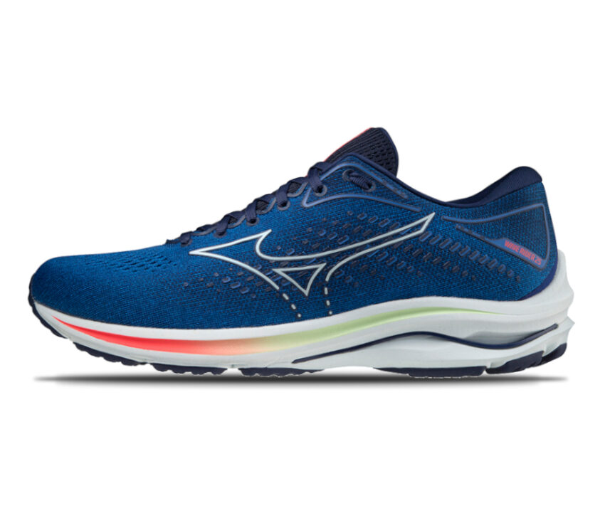 suola scarpa running uomo mizuno wave rider 25 blu