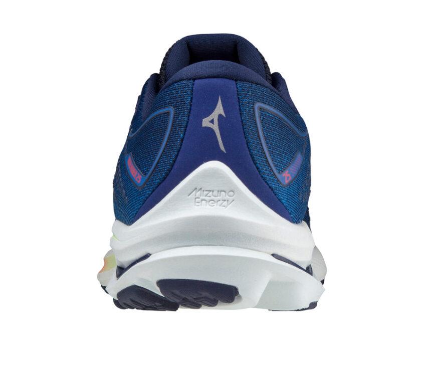retro scarpa running mizuno wave rider 25 uomo blu