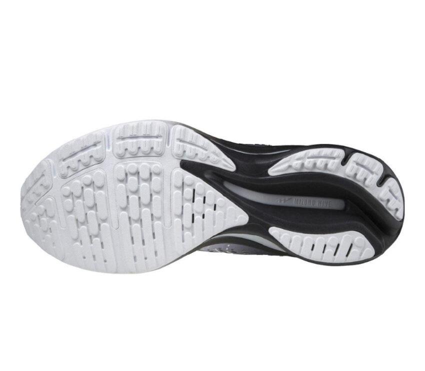 suola scarpa da running neutra mizuno wave rider 25 grigia osaka