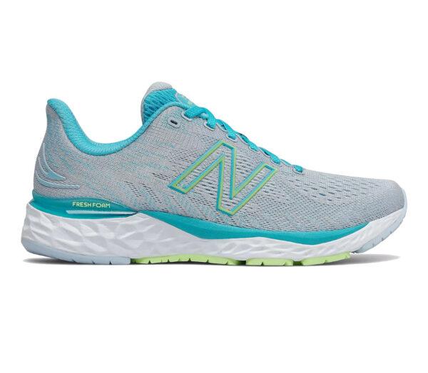 scarpe running donna a pianta larga new balance 880 v 11 azzurra