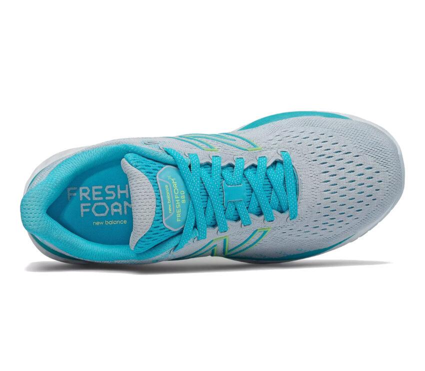 tomaia scarpe running donna a pianta larga new balance 880 v 11 azzurra