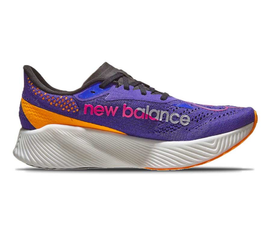 scarpa da running uomo con piastra in carbonio new balance FuelCell RC Elite v2 viola
