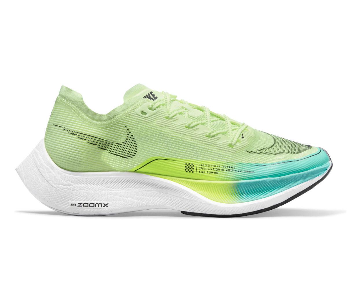 scarpe da running veloci da donna nike vaporfly next 2 fluo