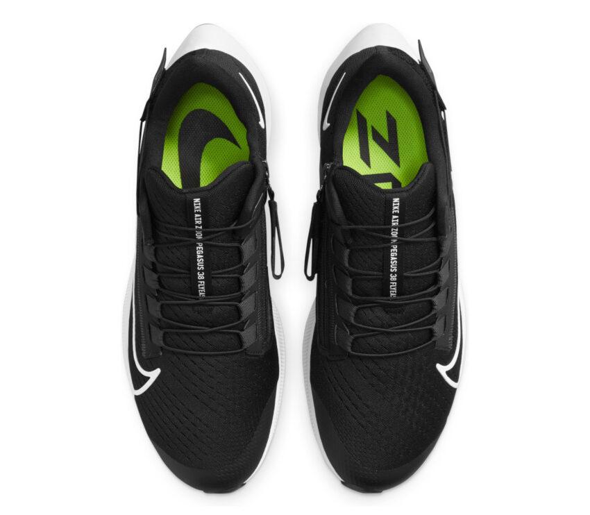 tomaia scarpa da running nike pegasus 38 flyease nera