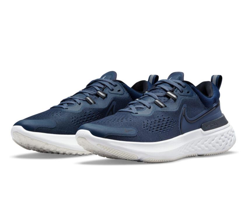 coppia scarpa da running per uomo nike react miler 2 blu