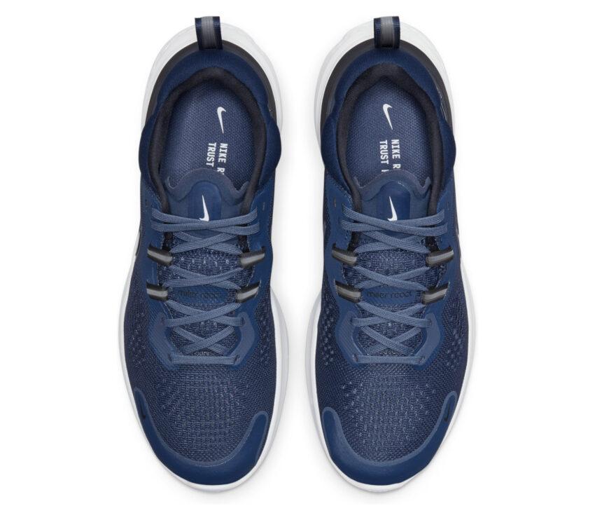 tomaia scarpa da running per uomo nike react miler 2 blu