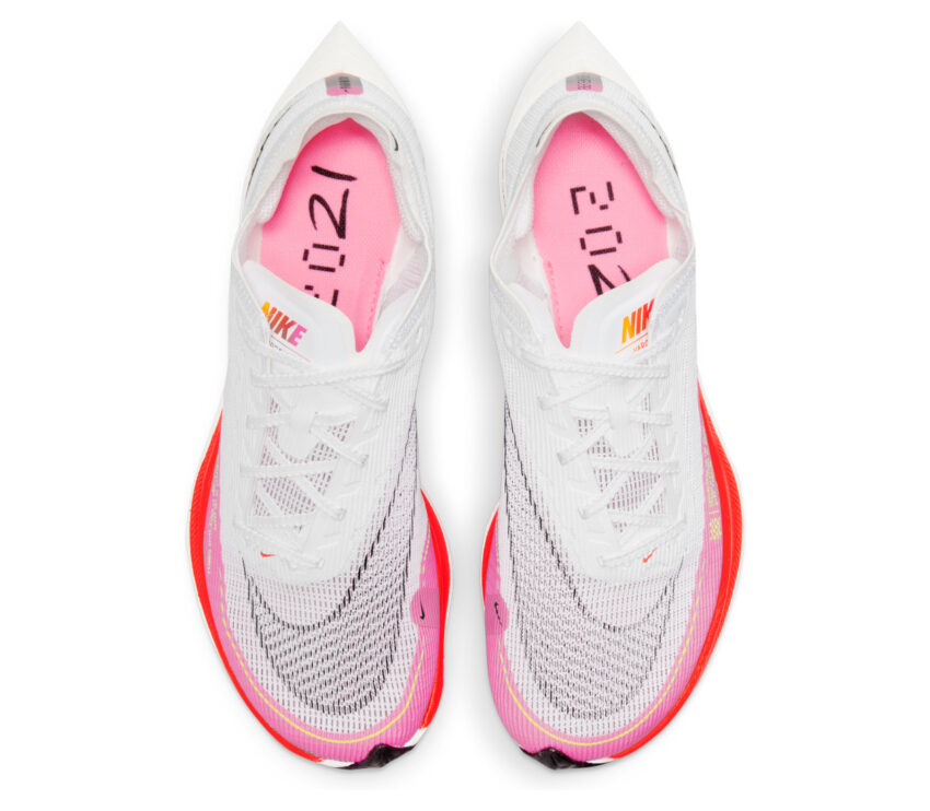 tomaia scarpa da running veloce da gara nike vaporfly next donna colore olimpico