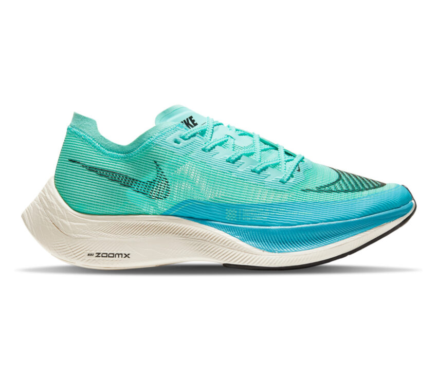 scarpa da gara nike zoom x vaporfly 2 azzurra da uomo