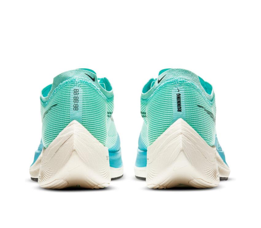retro scarpa da gara nike zoom x vaporfly 2 azzurra da uomo