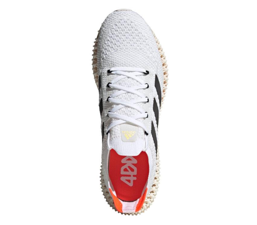 tomaia scarpa da running adidas 4DFWD da uomo colore bianco