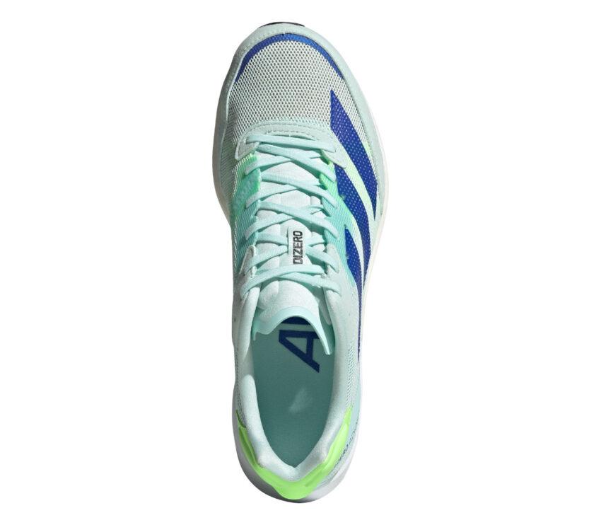 tomaia scarpa da running reattiva da donna adios 5 adizero azzurra