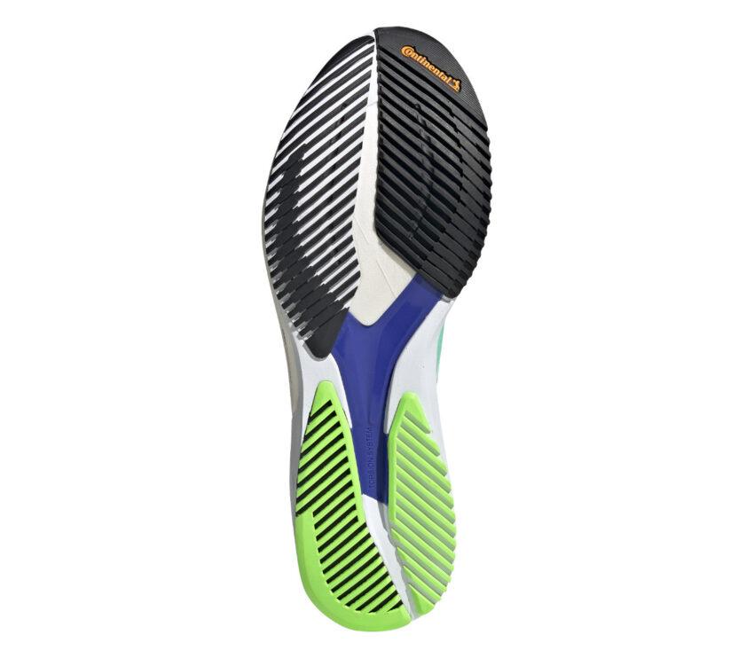 suola scarpa da running reattiva da donna adios 5 adizero azzurra