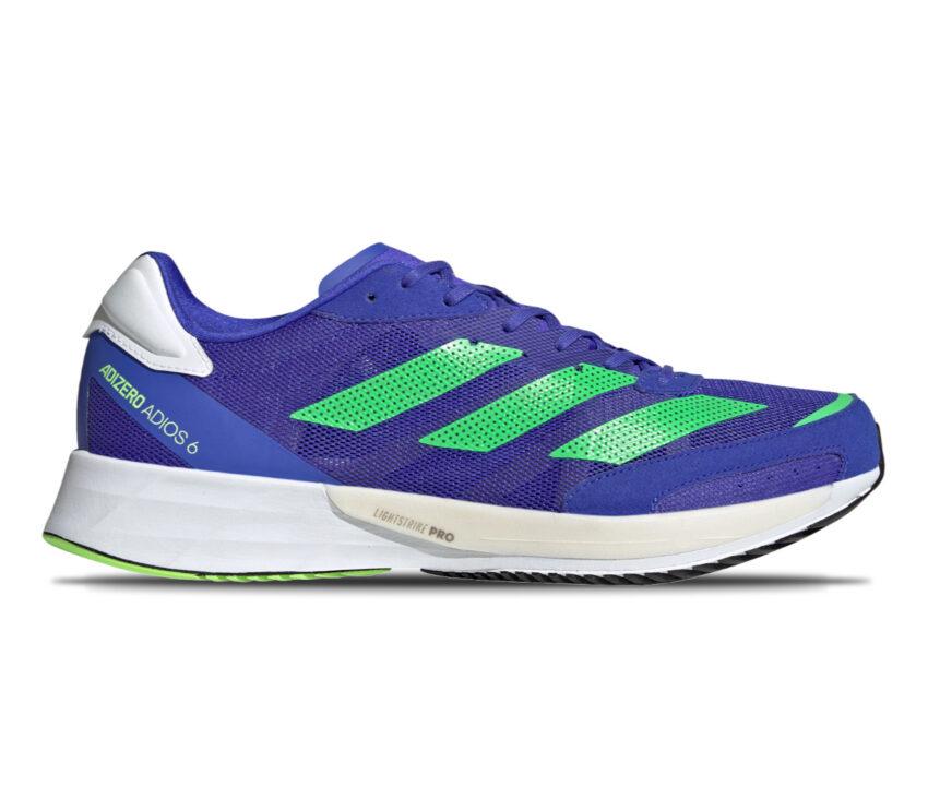 scarpa da running uomo adidas adios 6 uomo blu