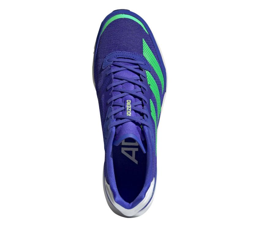 tomaia scarpa da running uomo adidas adios 6 uomo blu