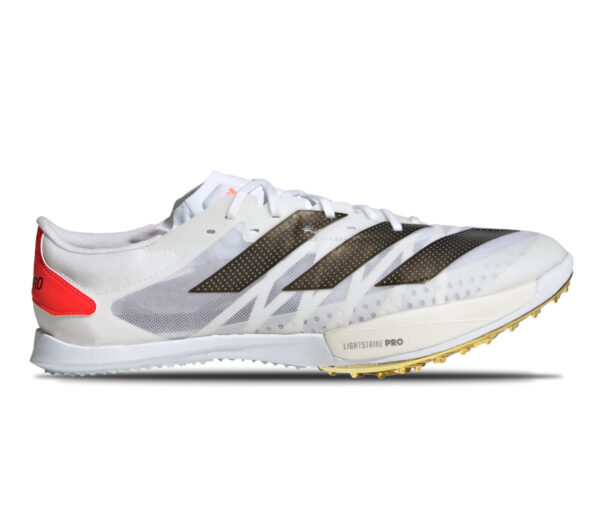 scarpa da pista mezzofondo adidas ambition unisex bianca
