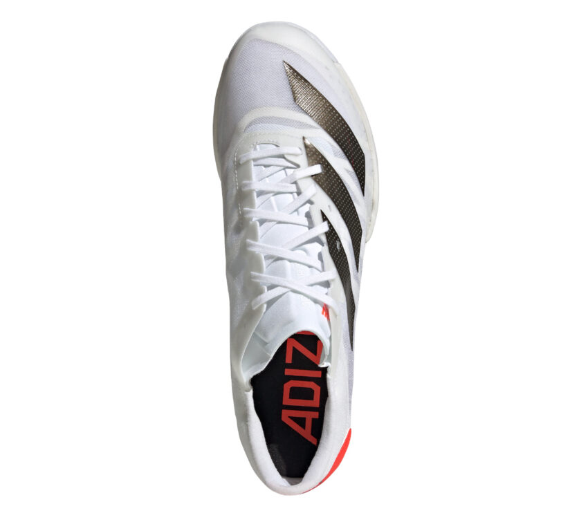 tomaia scarpa da pista mezzofondo adidas ambition unisex bianca