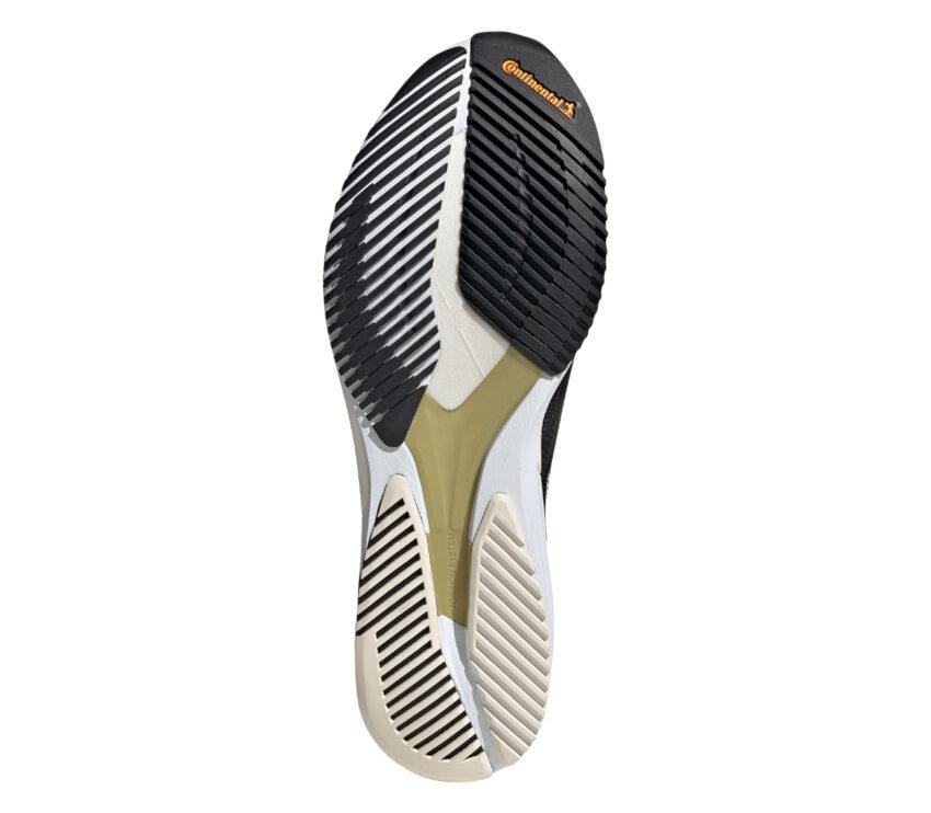 suola tomaia scarpa da maratona adidas adizero adios 6 donna colore nero