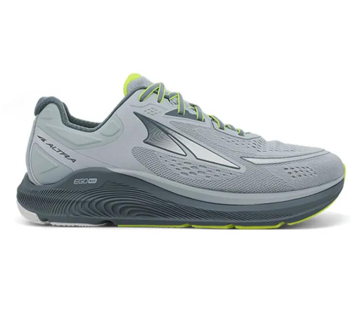 scarpa da running stabile e reattiva altra paradigm 6 grigia