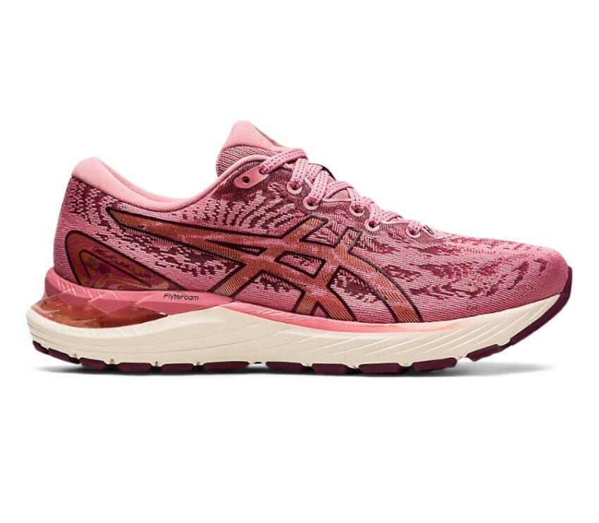 scarpa da running donna asics gel cumulus 23 rosa