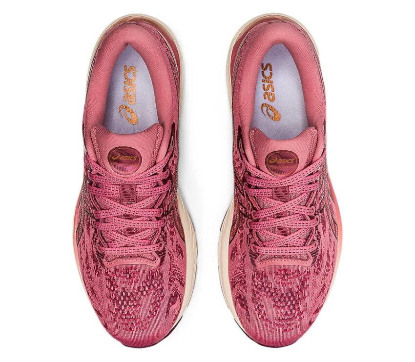 tomaia scarpa da running donna asics gel cumulus 23 rosa