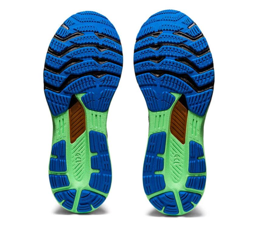 suola coppia scarpe pronazione asics kayano 28 lite show