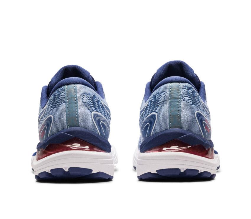 tallone scarpa running donna asics gel cumulus 23 blu