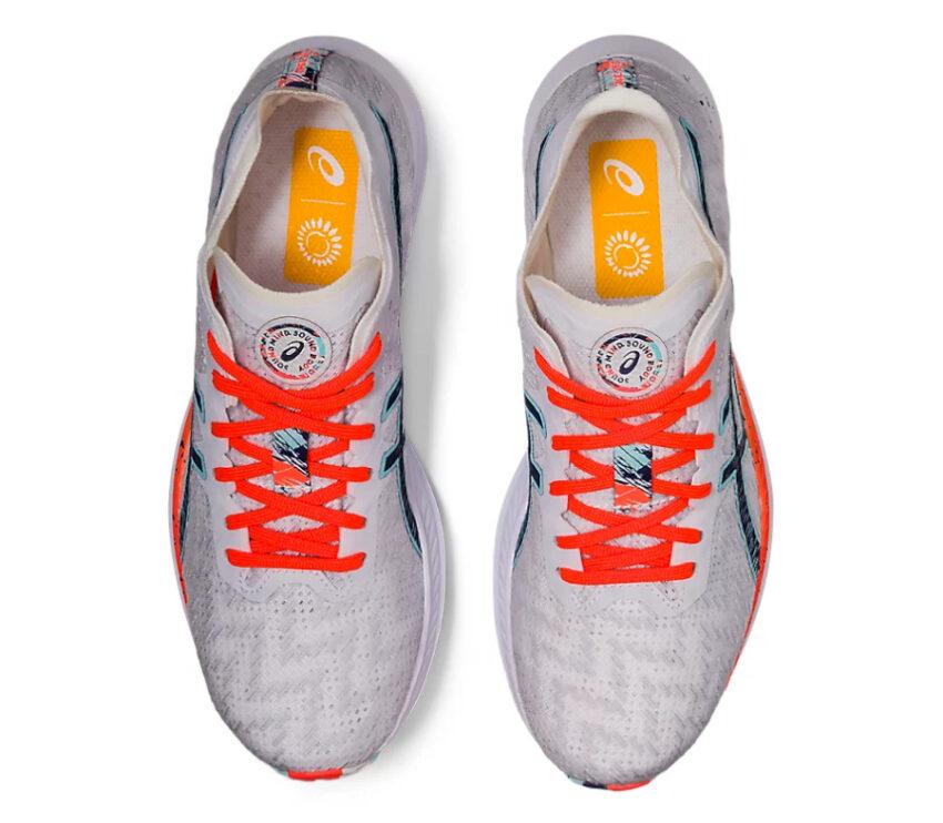 tomaia scarpe da donna running asics magic speed