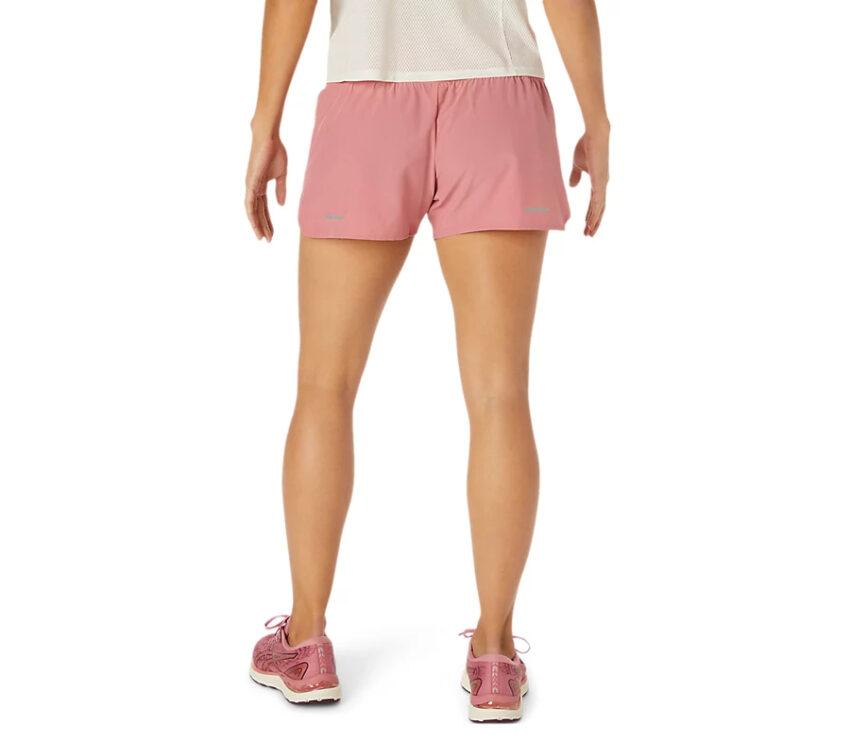 retro pantaloncini da running donna asics rosa