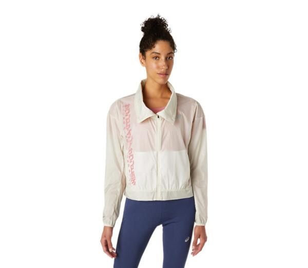giacca da running impermeabile Asics da donna