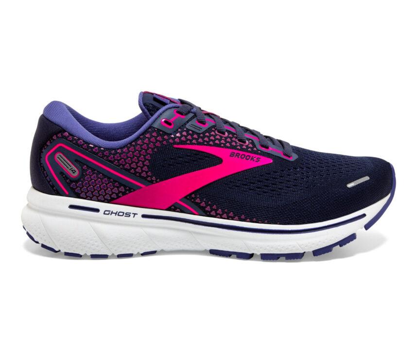 scarpa da running donna brooks ghost 14 viola
