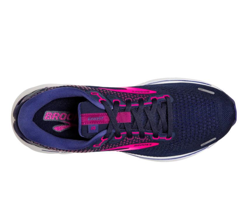 tomaia scarpa da running donna brooks ghost 14 viola
