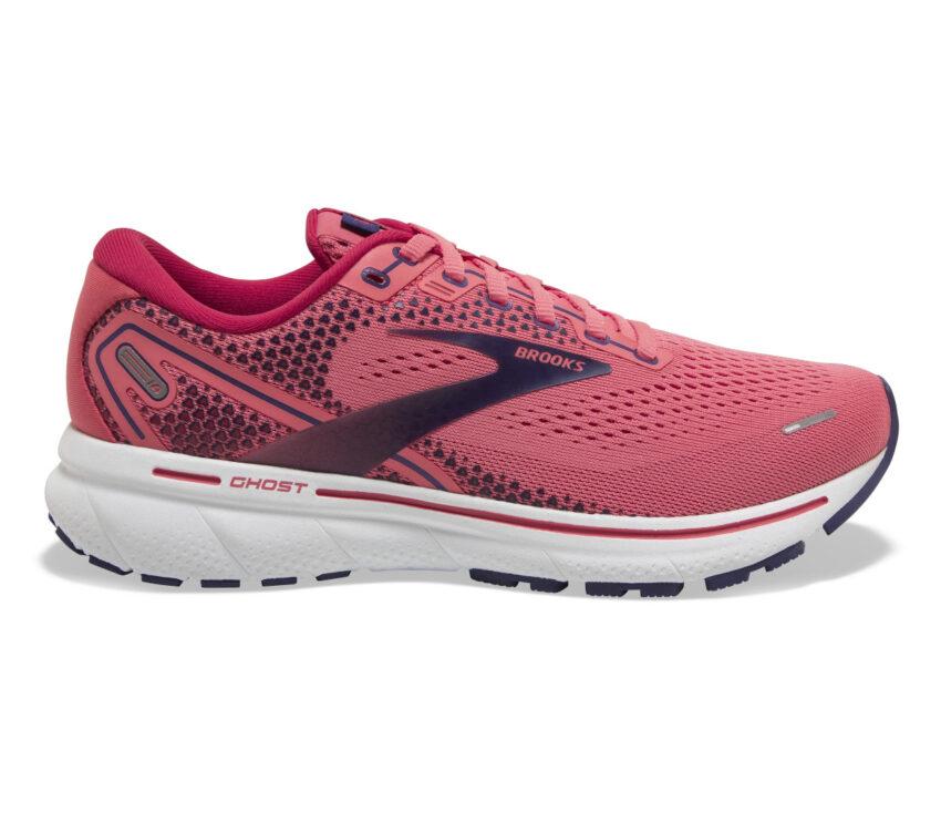 scarpa da running donna brooks ghost 14 rosa