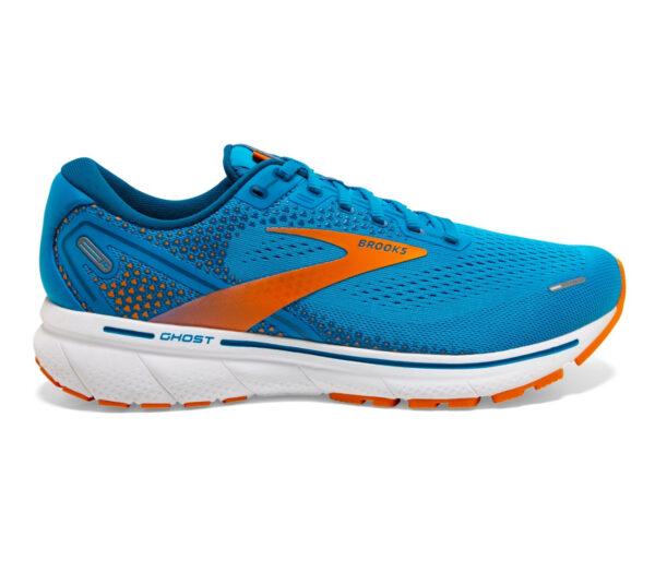scarpa da running ammortizzata brooks ghost 14 azzurra