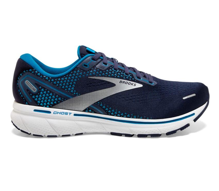 scarpa da running ammortizzata brooks ghost 14 blu
