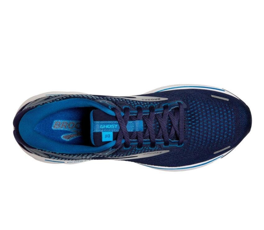 tomaia scarpa da running ammortizzata brooks ghost 14 blu