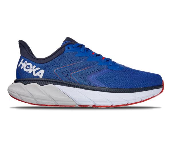 scarpa da running stabile Hoka arahi 5 blu