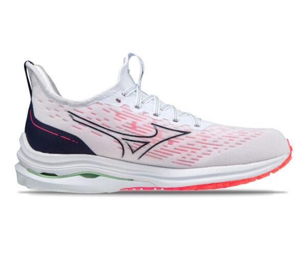 scarpa da running reattiva donna mizuno wave rider neo 2 bianca