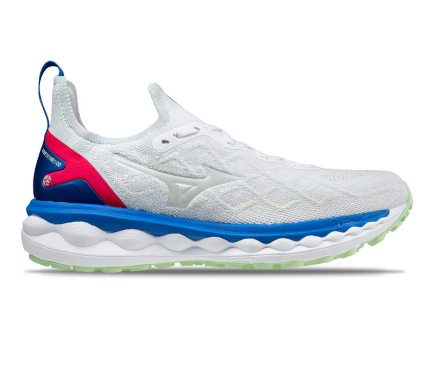 scarpa da runnin da uomoammortizzata mizuno sky neo 2 bianca