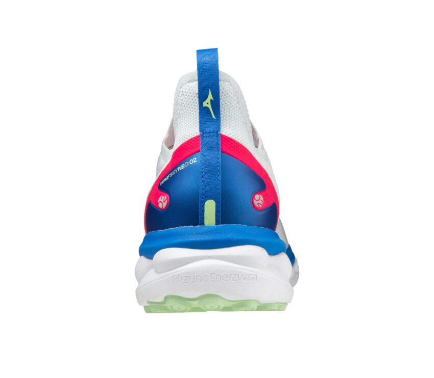 retro scarpa da runnin da uomoammortizzata mizuno sky neo 2 bianca