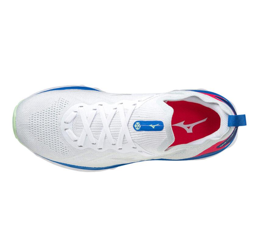 tomaia scarpa da runnin da uomoammortizzata mizuno sky neo 2 bianca