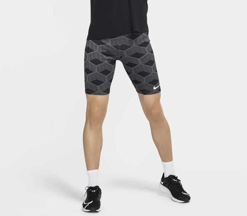 shorts da running aderenti da uomo nike aeroswift kenya