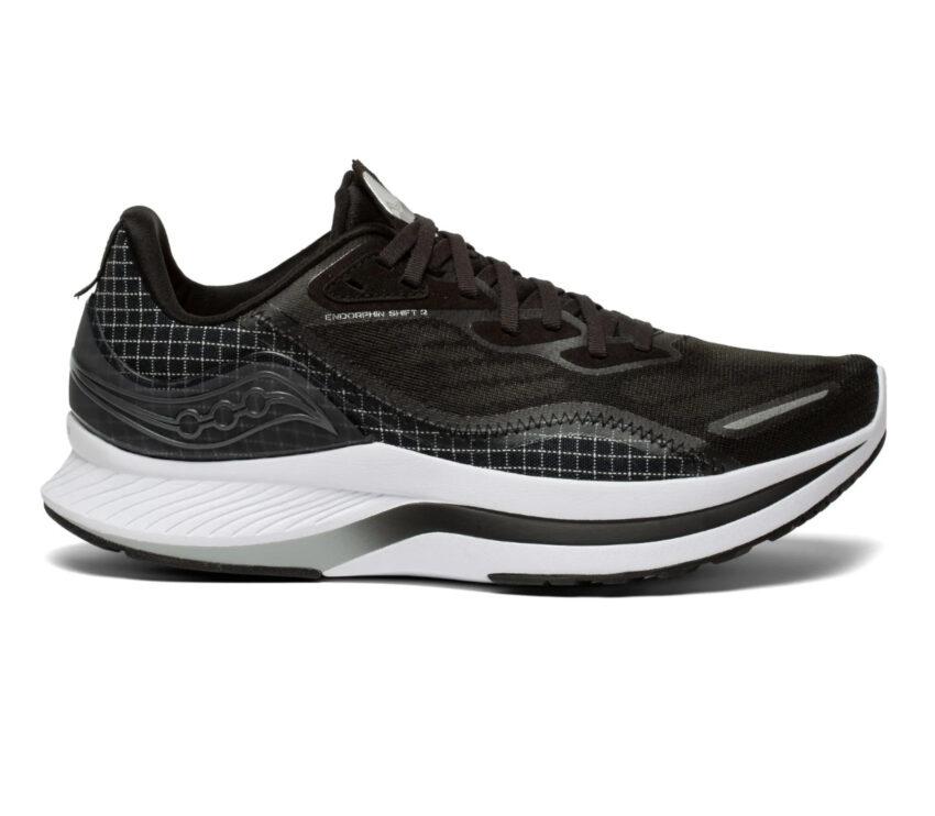 scarpa da running uomo veloce saucony endorphin shift 2 nera