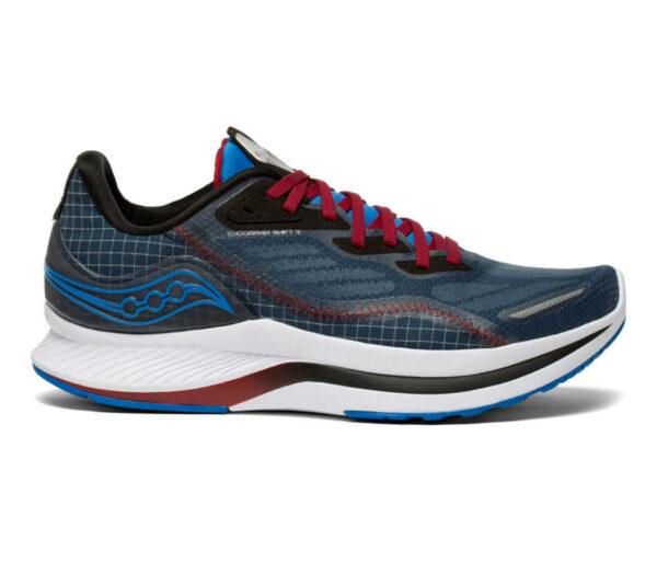 scarpa da running uomo veloce saucony endorphin shift 2 blu
