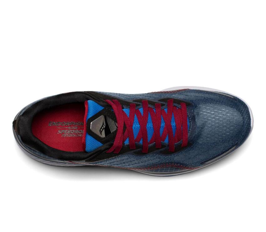 tomaia scarpa da running uomo veloce saucony endorphin shift 2 blu