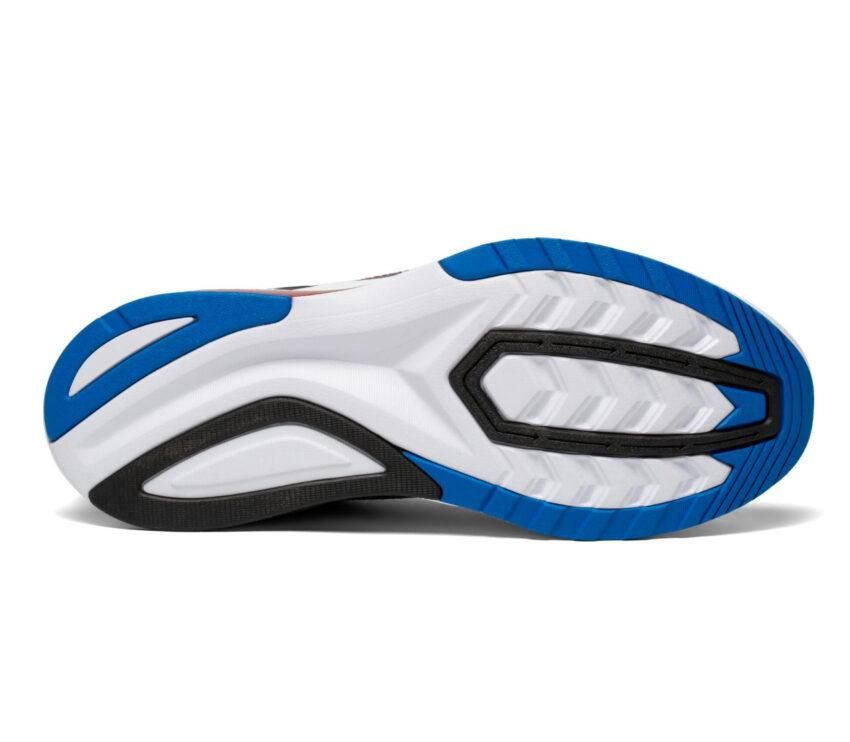 suola scarpa da running uomo veloce saucony endorphin shift 2 blu