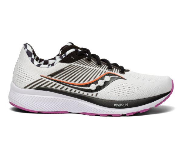 scarpa running donna saucony guide 14 bianca e nera